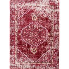 Jaipur Living Ceres Persian Red/Cashmere Rose Area Rug