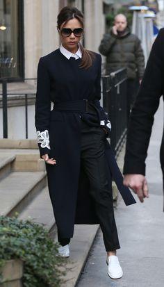 Winter style 327355466649900464 - Victoria Beckham in winter style, Getty Source by GlobalGlamMag Star Fashion, Look Fashion, Winter Fashion, Fashion Outfits, Street Fashion, Victoria Beckham Outfits, Victoria Beckham Style, Viktoria Beckham, Looks Jeans