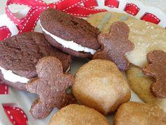 The Healing Kitchen: Gluten Free Vegan Christmas Cookies (one raw)