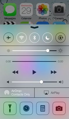 iOS7 sexiness