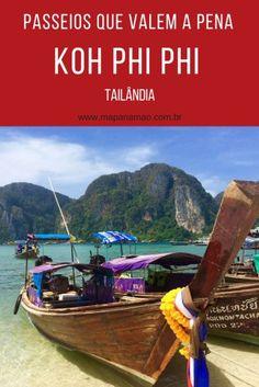 Passeios em Koh Phi Phi, Tailândia, que realmente valem a pena.