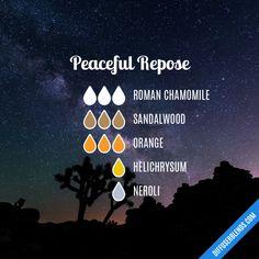 Peaceful Repose - Essential Oil Diffuser Blend