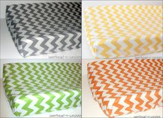Chevron Contoured Changing Pad Cover CHOOSE by sweetheartnsunshine, $22.50