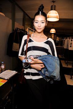 Liu Wen - Jean Paul Gaultier Fall 2011
