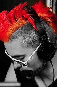 Jared Leto, sexiest Mohawk EVER!