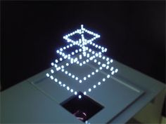 Japan's National Institute of Advanced Industrial Science and Technology (AIST) developed a 3D display technology which uses lasers to create dots in mid-air.