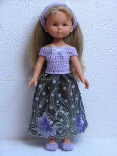 Robe de soirée pour poupée Chérie