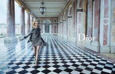 "Christian Dior ""Secret Garden 2 Versailles"" Ad Campaign"