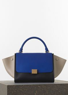 Medium Luggage Phantom Handbag in Grained Calfskin - Spring / Summer Collection 2015 | CÉLINE