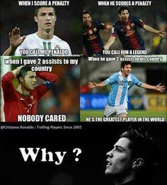because peope don't care about you Ronaldo, they just care about they Idol: Messi Funny Soccer Memes, Soccer Quotes, Sports Memes, Ronaldo Memes, Ronaldo Quotes, Messi Vs Ronaldo, Lionel Messi, Messi 10, Ronaldo Juventus
