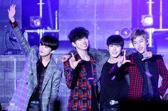 Youngjae, Yongguk, Himchan & Daehyun B.A.P