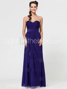 ANTIOCH - Vestido de Dama de honor de Gasa - USD $ 97.99