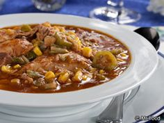 Burgoo is a big favorite for Kentucky Derby-watching parties, and our version of Easy Kentucky Burgoo make this hearty stew even simpler to pull off. And whether for the big race or anytime at all, its a one-pot that always satisfies. Crockpot Recipes, Soup Recipes, Cooking Recipes, Copykat Recipes, Dishes Recipes, Entree Recipes, Yummy Recipes, Healthy Recipes, Korma