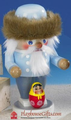 Steinbach Troll Russian Father Frost SIGNED Nutcracker RET