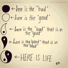 harmoni och balans- yin och yang | Lovely Life