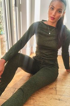 Tall Light Weight Knit Slash Neck Lounge Set | boohoo Clothing For Tall Women, Fashion Face Mask, Sport Girl, Girl Costumes, Lounge Wear, Boohoo, Leather Pants, Knitting, Stylish