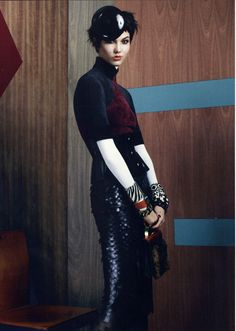 Karlie Kloss in Vogue US, August 2011 #fashion #editorial