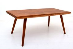 Mid Century Modern Solid Wood Coffee Table Eames by AMBIANIC, $550.00