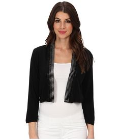 Calvin Klein Calvin Klein  Studded MJ Shrug Black Womens Sweater for 32.99 at Im in!