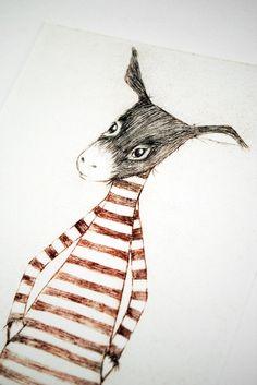 Tee am Nachmittag Nr. 10  – Der Esel (rot)