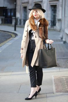 Street Style Photos London Fashion Week - Fall 2014 LFW Street Style PIctures