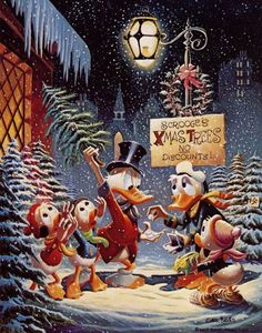Christmas Composition by Carl Barks