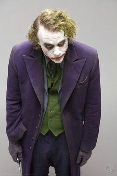 Joker (Heath Ledger) from Batman.