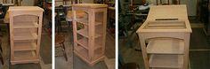 Quilt display/storage cabinets