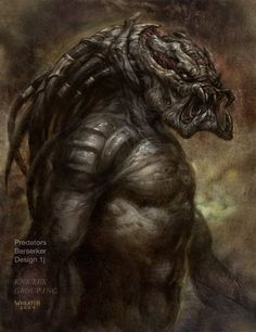 PREDATORS CONCEPT ART - Page 3 - Predator Reference Gallery - The Hunter's Lair - Page 3
