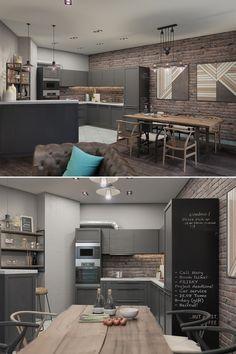 Loft apartment - Галерея 3ddd.ru