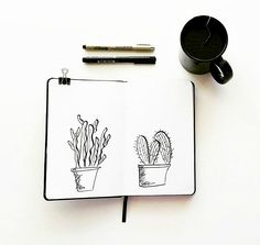 Seaweed Kisses: Doodles in the art journal
