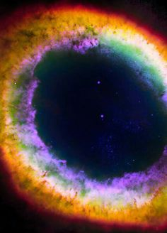 The Ring Nebula ~ Except for the rings of Saturn, the Ring Nebula (M57) is probably the most famous celestial band.