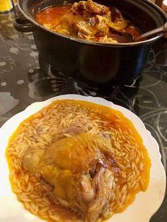 Κοτόπουλο γιουβέτσι στην γάστρα !!!! ~ ΜΑΓΕΙΡΙΚΗ ΚΑΙ ΣΥΝΤΑΓΕΣ 2 Cookbook Recipes, Cooking Recipes, Greek Cooking, Cabbage, Pork, Food And Drink, Meat, Chicken, Vegetables