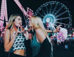 going to the fair with your best friend
