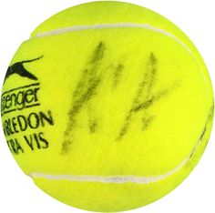 Item specifics    									 			Autograph Authentication:   												Fanatics Authentic  									 			Framed:   												No    									 			Player:   												Andre Agassi  									 			Is Autographed:   												Yes    									 			Categories:   												Autographed Tennis... - #Tennis https://lastreviews.net/sports-fitness/tennis/andre-agassi-steffi-graf-dual-autographed-wimbledon-logo-tennis-ball/