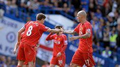 Gerrard scores but Liverpool fade Chelsea F.C.  #ChelseaFC