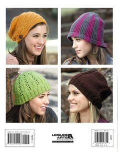 Leisure Arts - Knook Urban Hats eBook, $9.99 (http://www.leisurearts.com/products/knook-urban-hats-ebook.html)