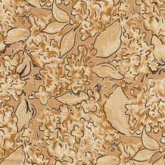 Garden Sketchbook, Lilacs in Cream