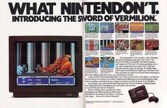What Nintendon't. Introducing The Sword Of Vermilion for the Sega Genesis