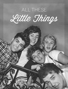 I'm in love with you, and all these Little Things <3