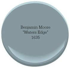 Benjamin Moore Waters Edge A coastal-inspired color palette can turn your home into a relaxing escape. Our top picks for choosing the best coastal blue paint colors for your home. Blue Paint Colors, Exterior Paint Colors, Bedroom Paint Colors, Paint Colors For Home, Wall Colors, House Colors, Color Blue, Paint Colors For Office, Furniture Paint Colors