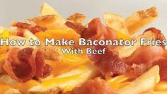 wendy s baconator fries fast food fare pinterest fries food