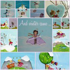 Aureline maakt lieve schilderijen en hebbedingen, geboortekaartjes en trouwkaartjes op maat. Bij Sweet by Aureline vind je nu ook haar geboortekaartjes, verjaardagskalender en andere spulletjes in een Sweet-jasje.