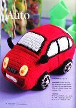 Háčkované návody na hračky - Album používateľky anna2912 Crochet Hats, Beanie, Toys, Car, Baskets, Ganchillo, Amigurumi, Automobile, Tricot