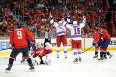 That winning feeling in the Stanley Cup Playoffs Game 7 against Washington Crap-it-alls, 2012