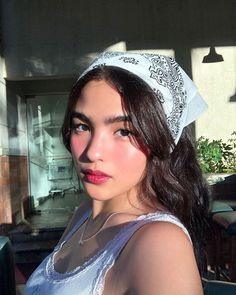 """Andrea Brillantes on Instagram: """"May we all stop doubting and start believing in ourselves this year 🥰"""" Teen Girl Photography, Photography Poses, Hair Scarf Styles, Long Hair Styles, Filipina Girls, Filipina Beauty, Ideas For Instagram Photos, Bandana Hairstyles, Aesthetic Hair"""