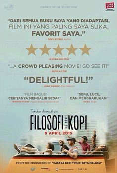 FILOSOFI KOPI @21cineplexcom @filkopmovie #FilosofiKopiTheMovie 9 April 2015