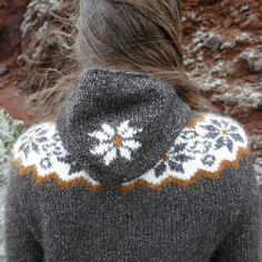 Traditional Icelandic cold weather sweater