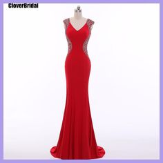 CloverBridal high quality red tapete para cozinha vestido celebridade robe de soiree 2017 selena gomez celebrity evening gowns