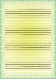 Free printable kids stationery, free printable writing paper for